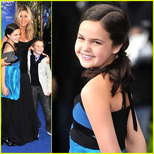 Bailee Madison Premieres 'Just Go With It'