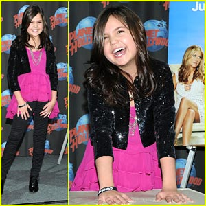 Bailee Madison 'Just Goes With It' at Planet Hollywood