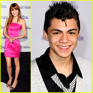 Bella Thorne & Adam Irigoyen Shake Up the 'Never Say Never' Premiere