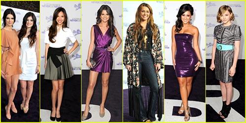 'Justin Bieber: Never Say Never' Premiere: BEST DRESSED POLL!