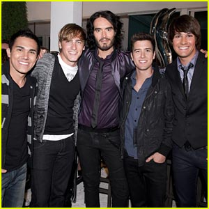 Big Time Rush: Beach Party with Russell Brand Tonight!