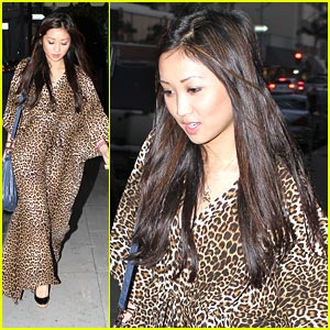 Brenda Song is Cheetah-licious!