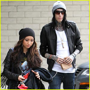 Brenda Song: Errand Run with Trace Cyrus