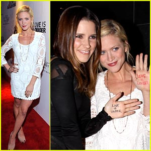 Brittany Snow: Love is Louder with Rock & Republic