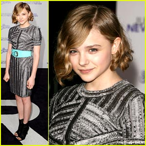 Chloe Moretz: Burberry Beauty