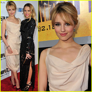 Dianna Agron: 'I Am Number Four' Premiere!