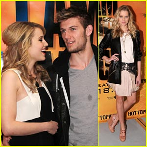 Dianna Agron & Alex Pettyfer: Hollywood & Highland Hot Topics