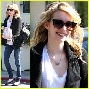 Emma Roberts: Don't Chase Me!