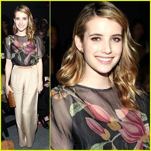 Emma Roberts: Jenny Packham Pretty