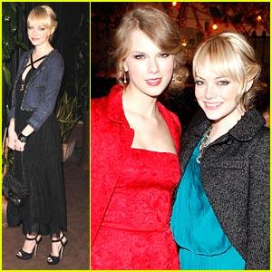 Emma Stone & Taylor Swift: Montblanc Mates