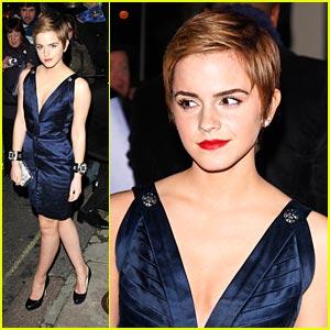 Emma Watson Marks It Up