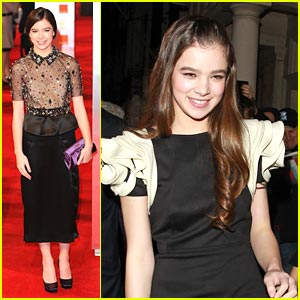 Hailee Steinfeld is BAFTA Beautiful