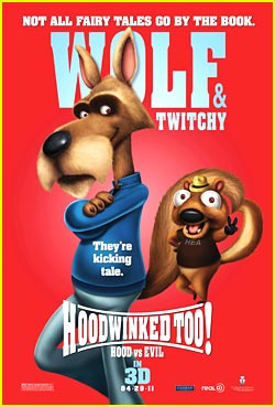 Hoodwinked Too -- JJJ Exclusive Poster!