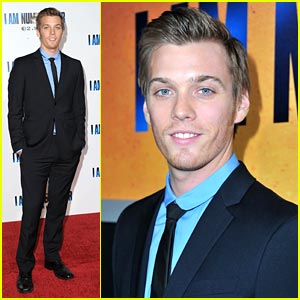 Jake Abel Premieres 'I Am Number Four'