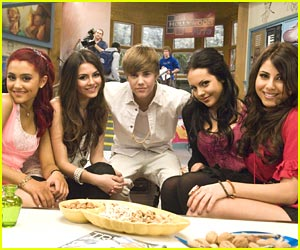 Justin Bieber & Victoria Justice: Crush Week on Nickelodeon!