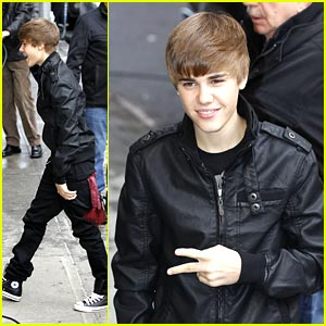 Justin Bieber: From Leno to Letterman