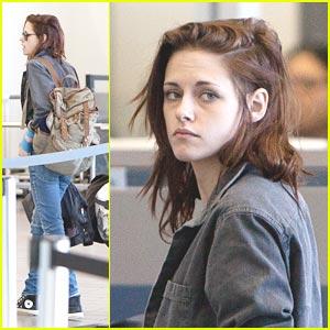 Kristen Stewart: LAX Liftoff