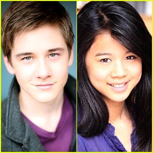 Leah Lewis & Luke Benward Join 'Madison High'