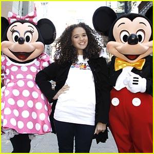 Mickey, Minnie & Madison Pettis: Disney Junior Launch!