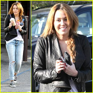 Miley Cyrus: Coffee Bean Cutie
