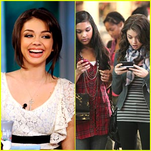 Sarah Hyland: 'The View' Guest Hostess!
