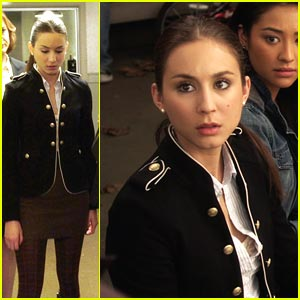 Troian Bellisario is in the Army Now