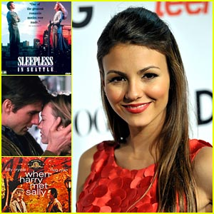 Victoria Justice: My Top 3 Valentine's Day Movies!