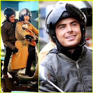 Zac Efron & Michelle Pfeiffer are Cool Riders