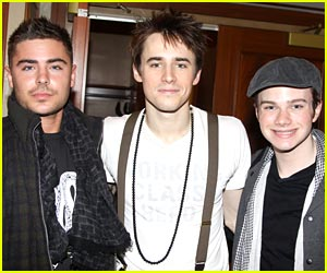 Zac Efron: Spider Man on Broadway with Chris Colfer!