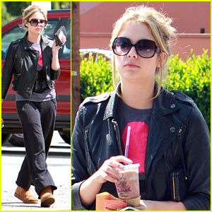 Ashley Benson: Coffee Bean Beauty