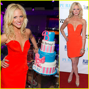 Brittany Snow: Birthday Party at Pure!