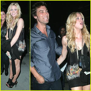 Brittany Snow & Lance Bass: Trousdale Twosome