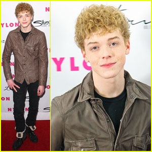 Cameron Monaghan: Blond Curls!