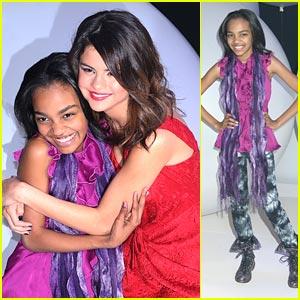 China McClain: ANT Farm-ing with Selena Gomez!