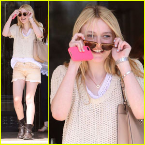 Dakota Fanning: Barneys Babe in Beverly Hills