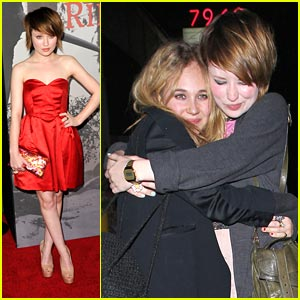 Emily Browning & Juno Temple are Very Voyeur