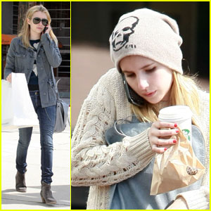 Emma Roberts: I'm Addicted to 'Pretty Little Liars'!