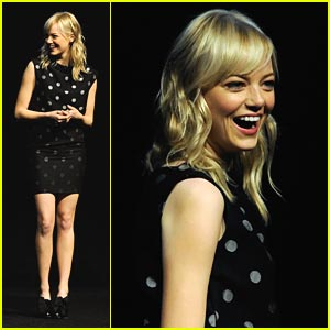 Emma Stone: CinemaCon Sweetheart