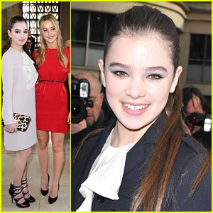 Hailee Steinfeld: Miu Miu Show in Paris!