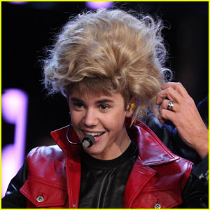 Justin Bieber Wigs Out On Wetten Dass Justin Bieber Just