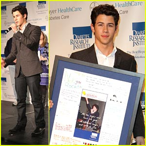 Nick Jonas: Carnival For A Cure!