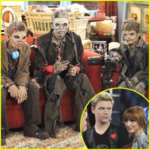 Roshon Fegan & Adam Irigoyen are Zombies!!!
