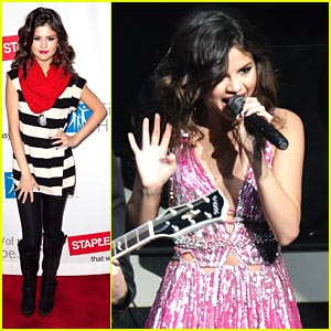 Selena Gomez & The Scene: Concert For Hope Pics and Video!