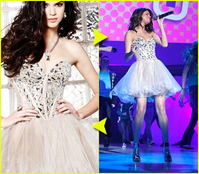 Fashion Faceoff: Sherri Hill Rhinestone Dress