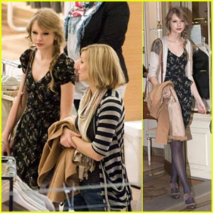 Taylor Swift: Paris Shopping Stop!