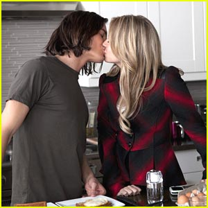 Tyler Blackburn 'Watches Over' Ashley Benson