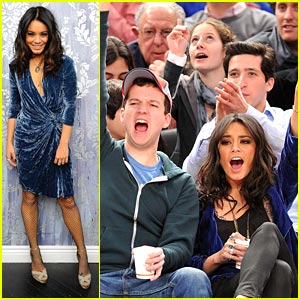 Vanessa Hudgens &#038; Gaelan Connell: Bandslam Basketball Buddies!