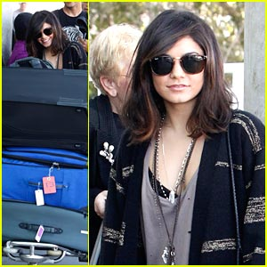 Vanessa Hudgens Leaves For London