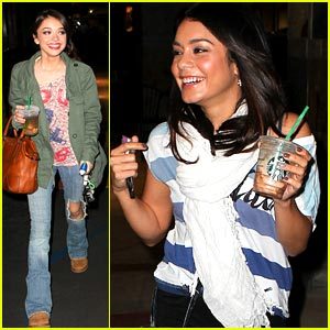 Vanessa Hudgens &#038; Sarah Hyland: Nail Garden Girls