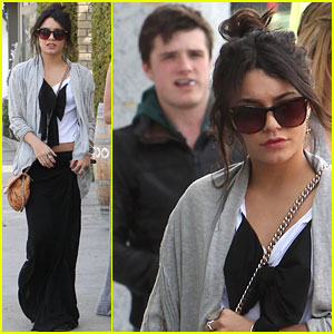 Vanessa Hudgens: Studio Cafe with Josh Hutcherson!